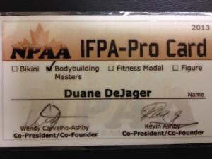 IFPA Pro Card